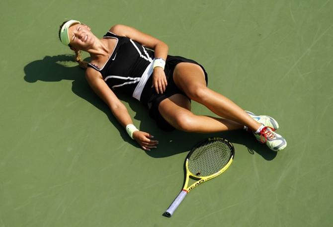Обморок Виктории Азаренко вызвал переполох на US Open.