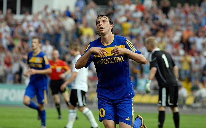 Ренан Брессан только что забил свой первый гол в Лиге чемпионов