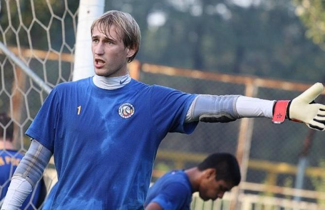 Антон Амельченко может стать первым номером сборной Беларуси