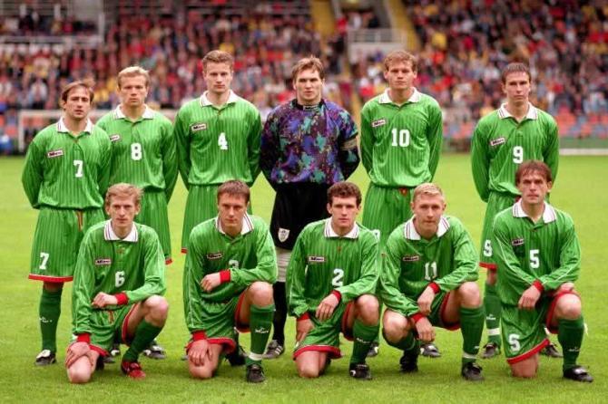 Хацкевич и Белькевич долгое время были лидерами сборной Беларуси. В этом есть и заслуга Михаила Братчени