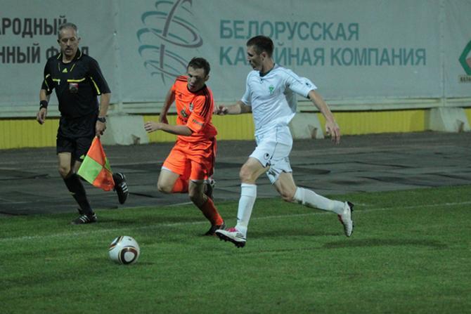В Солигорске Александру Данилову была представлена возможность вспомнить белорусский футбол