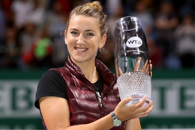 Поражение в полуфинале итогового турнира не сильно расстроило Викторию Азаренко, ведь она осталась первой ракеткой мира.