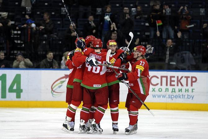 Белорусы взяли убедительный реванш за поражение в пятницу.