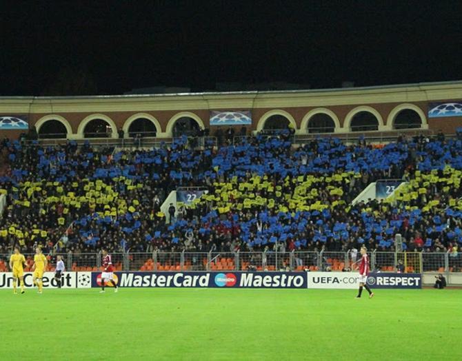 В Минске все три матча Лиги чемпионов собрали аншлаг.