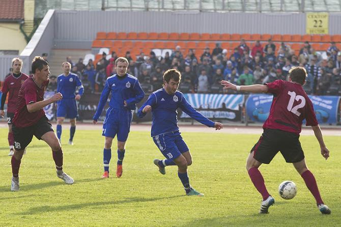 Антон Матвеенко надеется перенести свою результативность из первой лиги в высшую