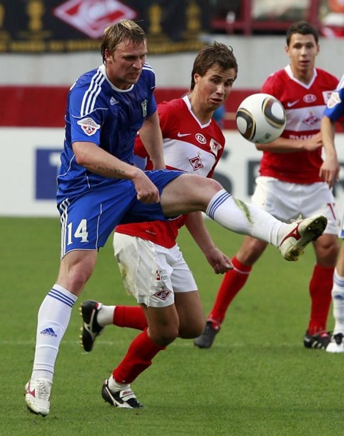 Сергей Корниленко набирает форму перед матчами с Францией и Румынией.