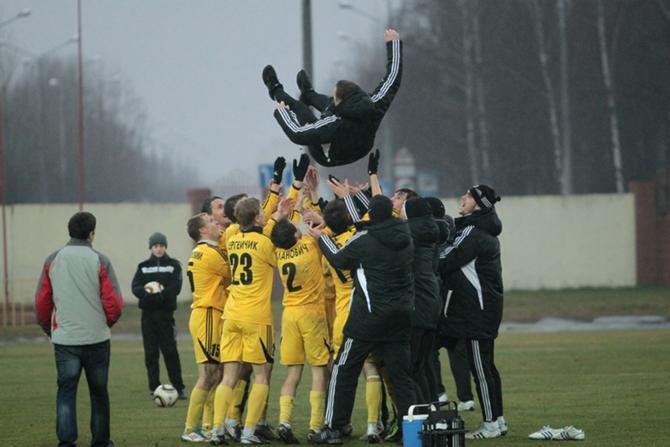 Полет Журавля... Футболисты