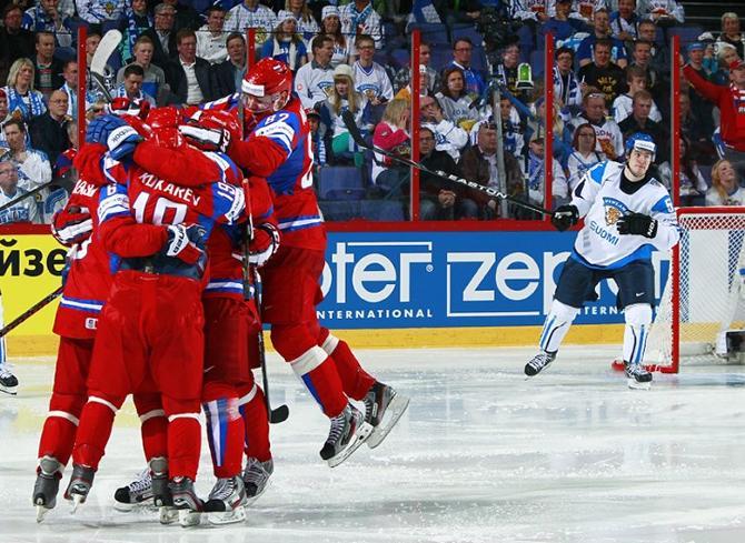 Россияне взяли у финнов убедительный реванш за прошлогоднее поражение.