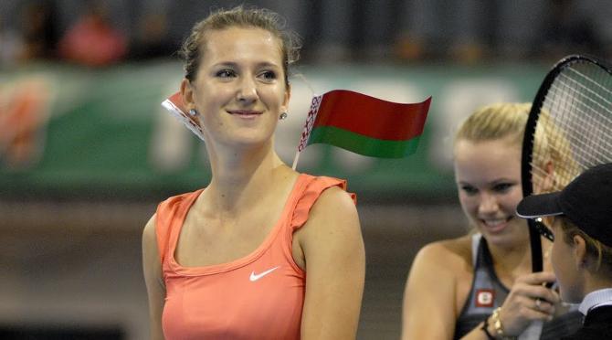 Виктория Азаренко - патриотка, спортсменка и просто красивая девушка.