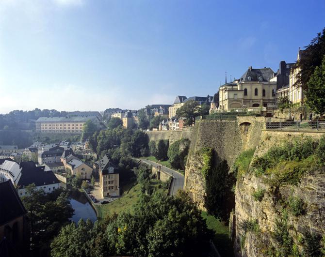 В Люксембурге все компактное.