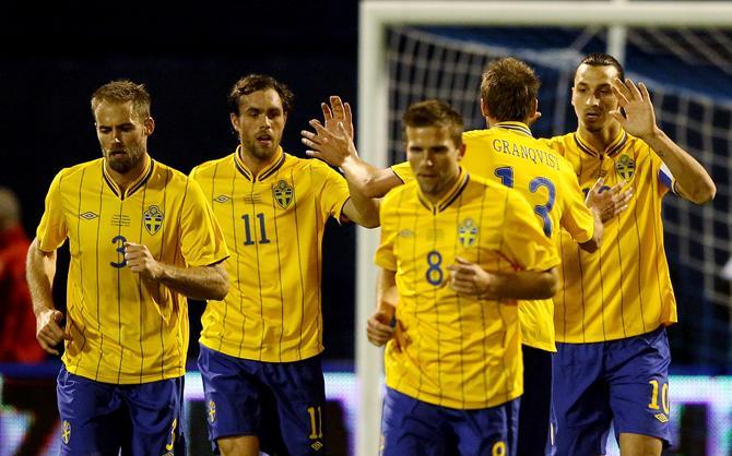 Златан Ибрагимович - ключевая фигура современной сборной Швеции.
