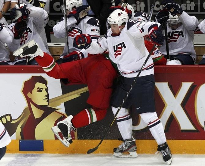 Американцы в шестой раз в истории обыграли белорусов.