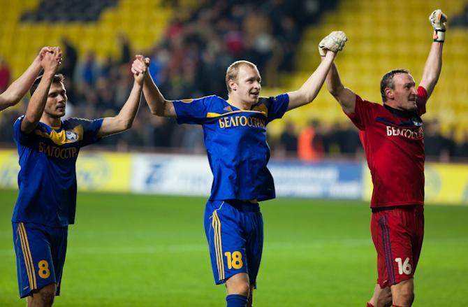 БАТЭ остался шаг до раунда плей-офф Лиги Европы