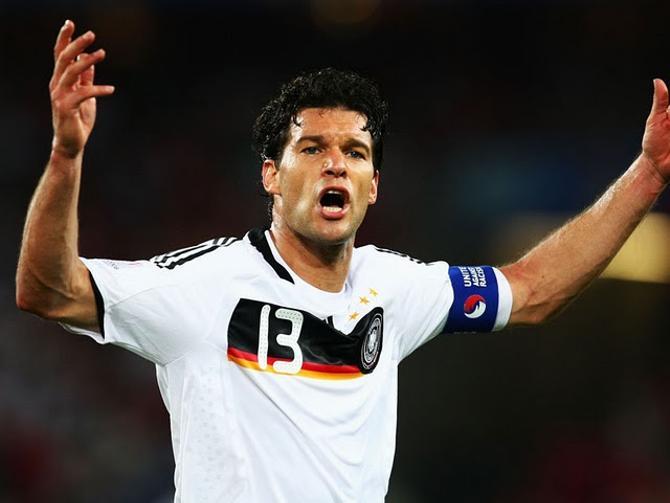 Михаэль Баллак - настоящий немецкий спортсмен.