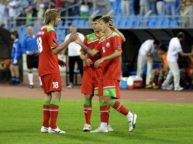 Антон Путило принимает заслуженные поздравления