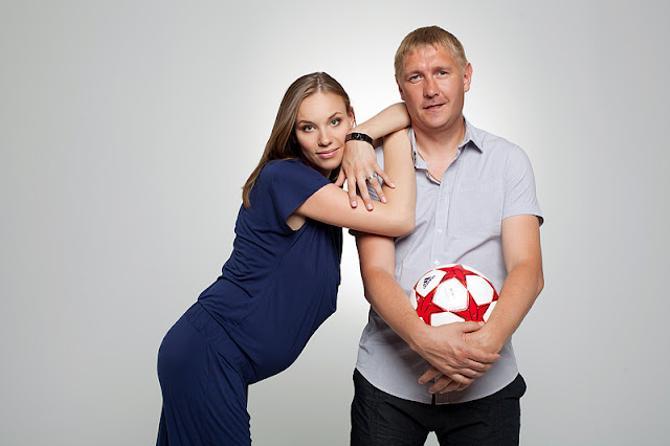 Владимир и Елена отлично дополняют друг друга, несмотря на разность темпераментов.