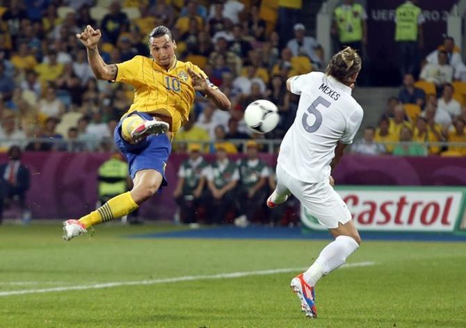 Гол Златана Ибрагимовича подытожил групповой этап Евро-2012, став на нем, пожалуй, лучшим.