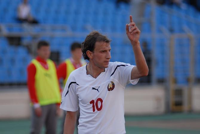 Ренан Брессан и в сборной Беларуси получил любимую
