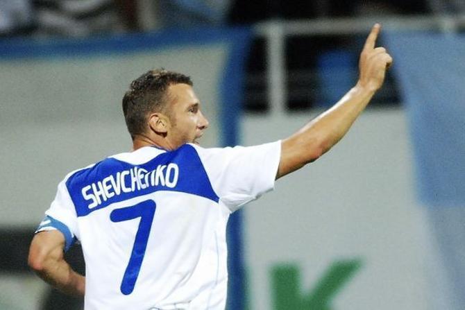 Андрей Шевченко вернулся в Киев и снова стал лидером команды.