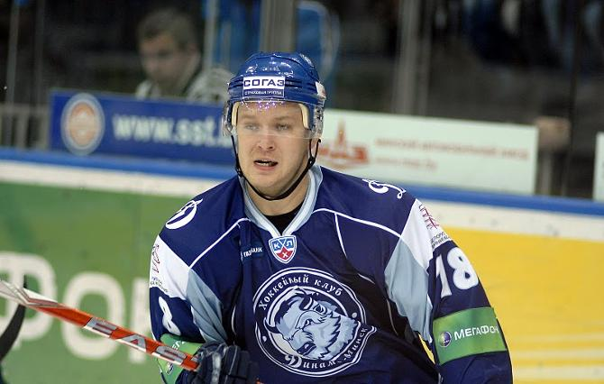 Усилий Константина Глазачева не хватило для победы в основное время.