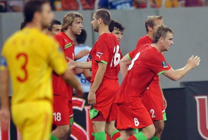 Румынские болельщики остались недовольны ничьей с