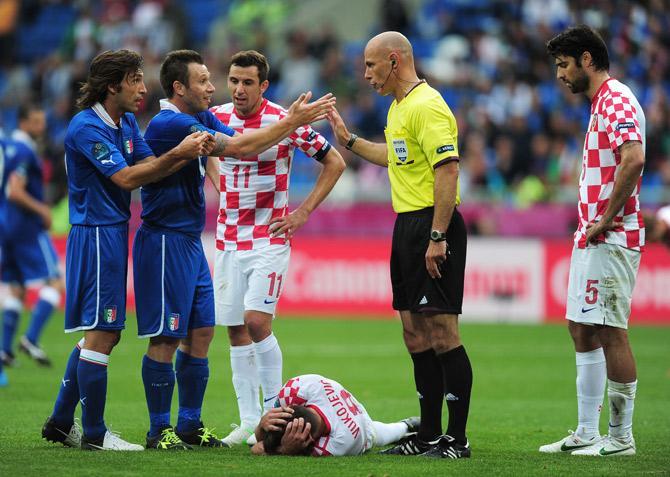 Во втором тайме матча против хорватов сборная Италии стала похожа на себя классического образца