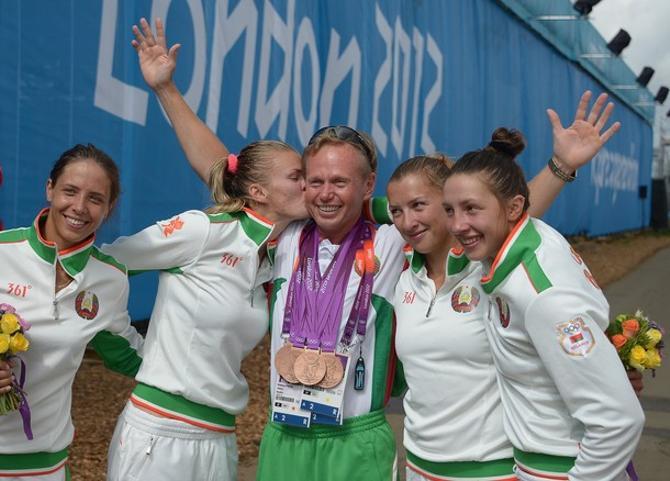 Великолепная белорусская четверка и тренер