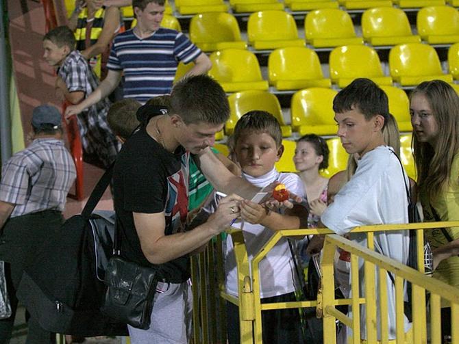 Павел Ситко отделался дисквалификацией на один матч