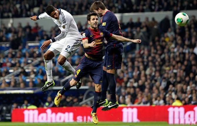 Рафаэль варан заслужил бы оценку «Отлично» за матч, даже не случись этого гола