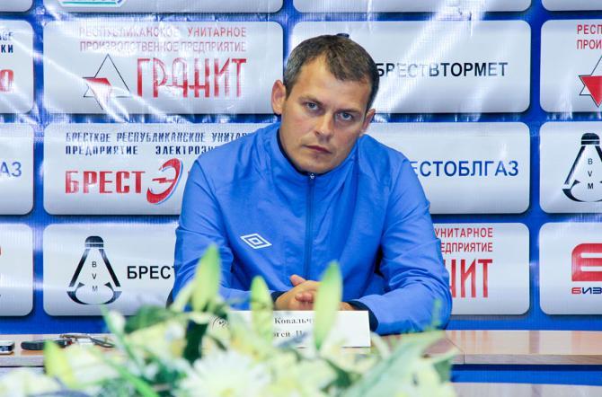 Сергей Ковальчук собирается сделать ставку на брестскую молодежь.
