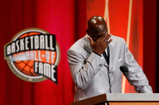 Майкл Джордан был включен в Зал Славы НБА в 2009 году.