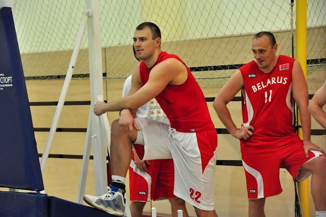 24-летний Артем Параховский – самый молодой баскетболист нынешней сборной Беларуси