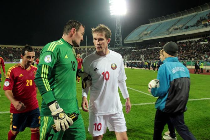 Лидерам белорусской сборной стоит побыстрее забыть о встрече с испанцами, предельно сконцентрировавшись на определяющем матче с грузинами
