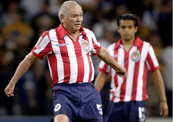 Сальвдор Рейес -- один из лучших бомбардиров в истории мексиканского футбола