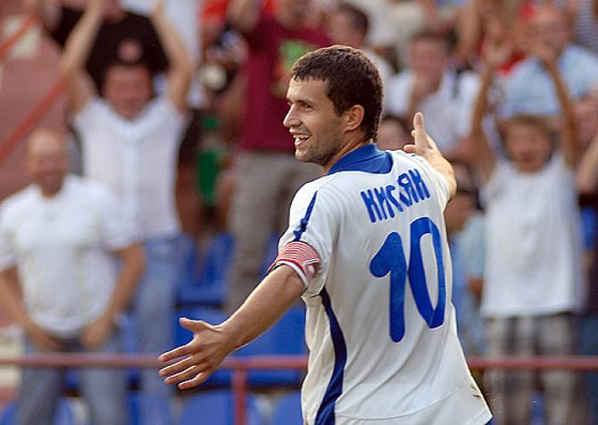Сергей Кисляк отдал голевую передачу и забил, но для победы этого не хватило.