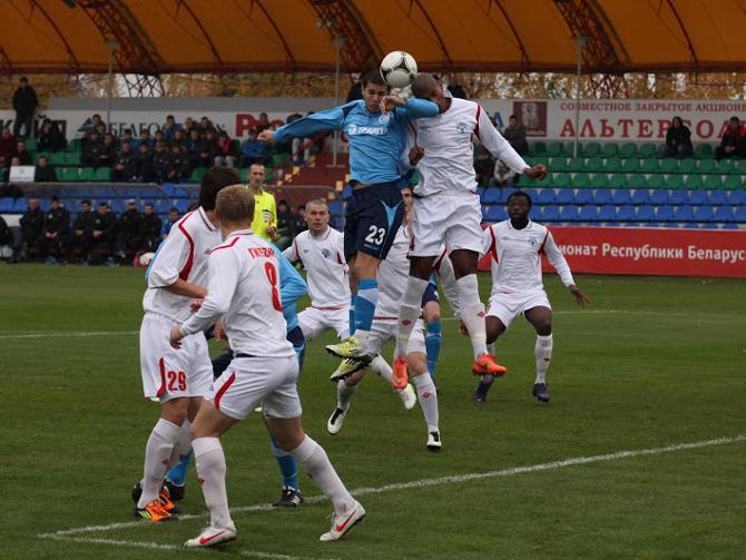 Динамовские форварды были выше защитников «Минска»