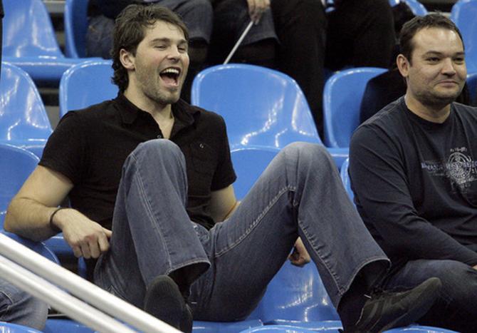 Алексей Яшин уже провел одну игру на трибуне. Очередь за Яромиром Ягром?