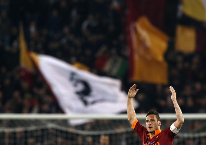Франческо Тотти принес Риму победу.