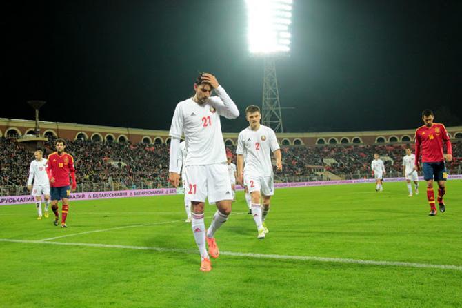 Пятницчный матч привел в восторг испанцских журналистов, а  белорусских заставил недоумевать