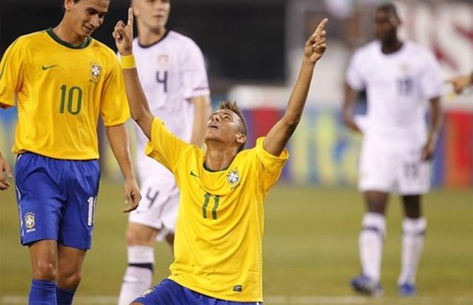 За бразильцем Неймаром уже устроили охоту самые великие европейские клубы.
