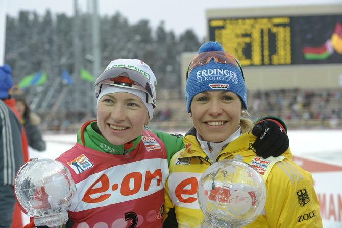 Дарья Домрачева осталась без главной соперницы - Магдалены Нойнер