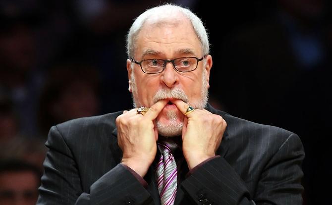 Фил Джексон проводит свой последний сезон в НБА.