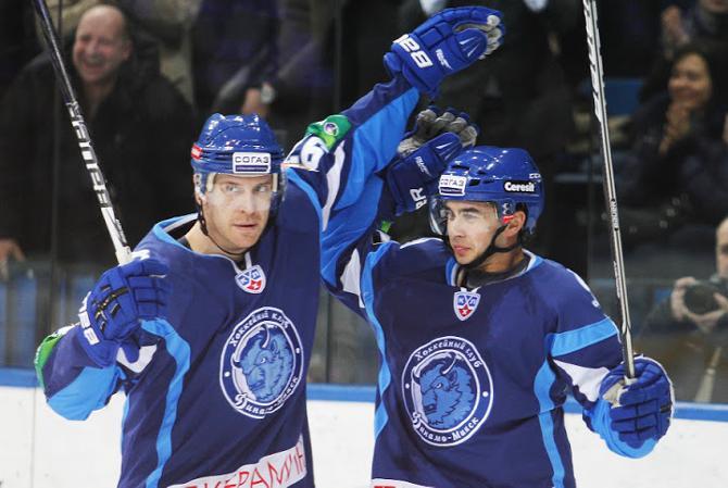 Теему Лайне и Тим Стэплтон – главные атакующие силы «Динамо» в сезоне.