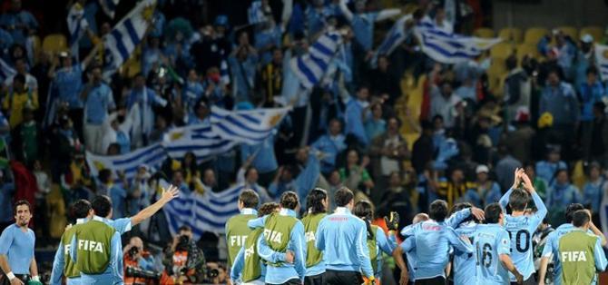 Такой сильно сборной Уругвая мир давно не видел.