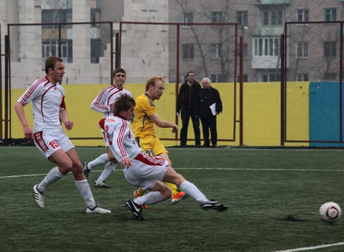 В матче за дублирующий состав Александр Павлов отметился голом.