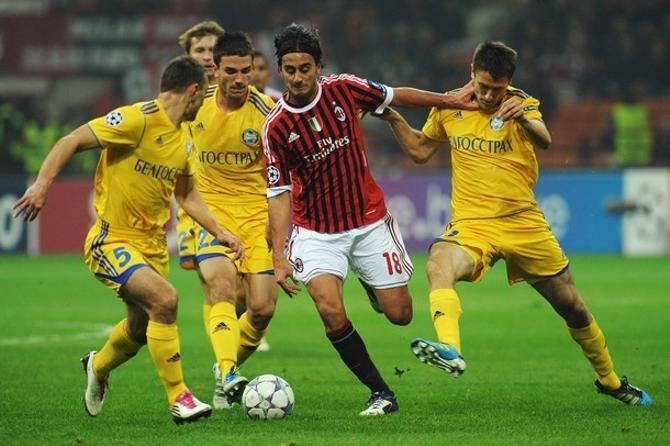 Результат матча предопределило высокое индивидуальное мастерство футболистов «Милана».