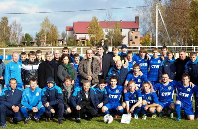 Впервые сыграв на родном стадионе, «Смолевичи-СТИ» оформили путевку в первую лигу