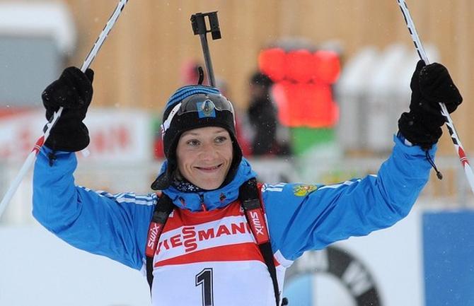Ольга Зайцева стала героиней третьего этапа Кубка мира
