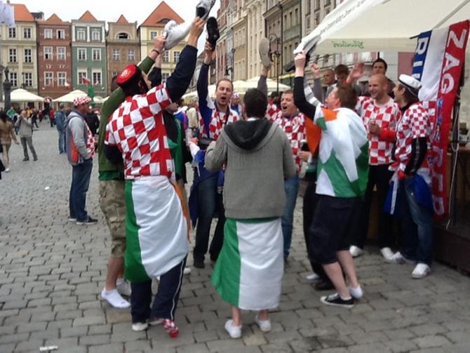В кричалках хорватов не было никаких оскорбительных слов об итальянцах или других народах