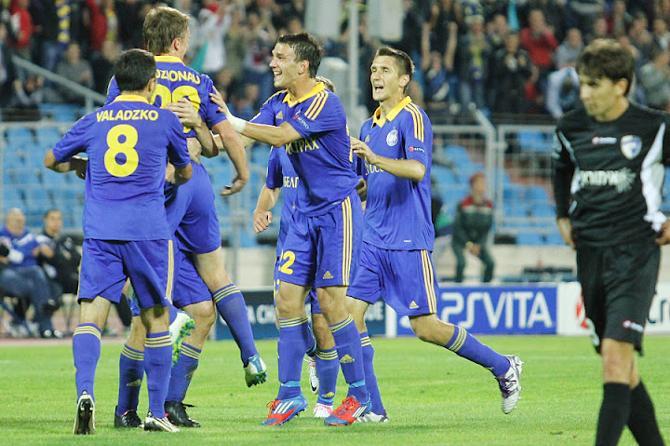 БАТЭ - в групповом этапе Лиги чемпионов!